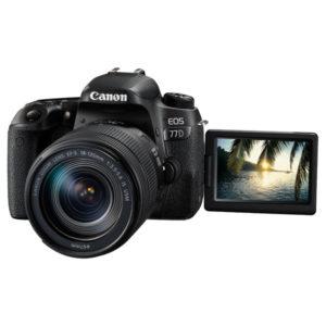 Фотоаппарат зеркальный Canon EOS 77D EF-S 18-135 IS USM Kit
