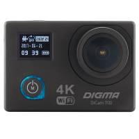 Видеокамера экшн Digma DiCam 700 черный